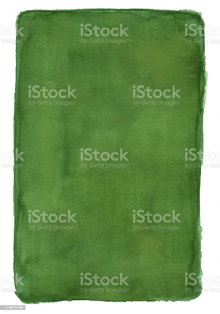 Irish Green Frame stock photo