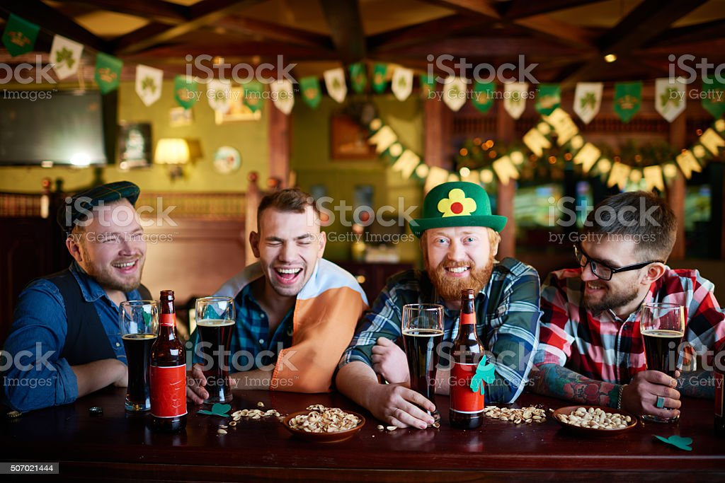 Irish holiday stock photo