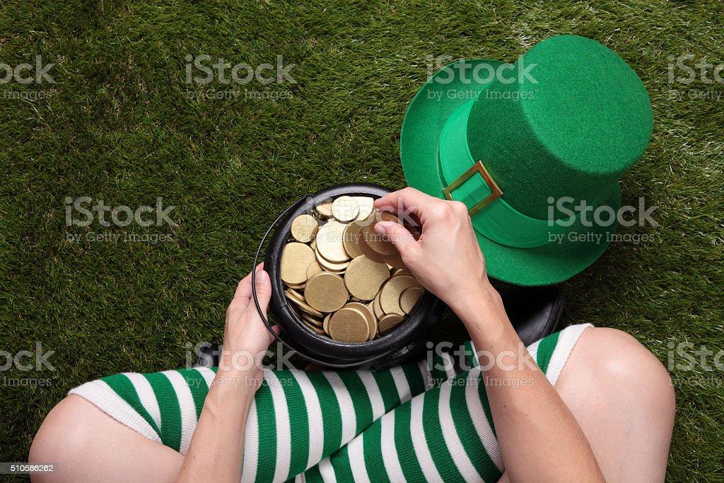 Irish Holiday stock photo