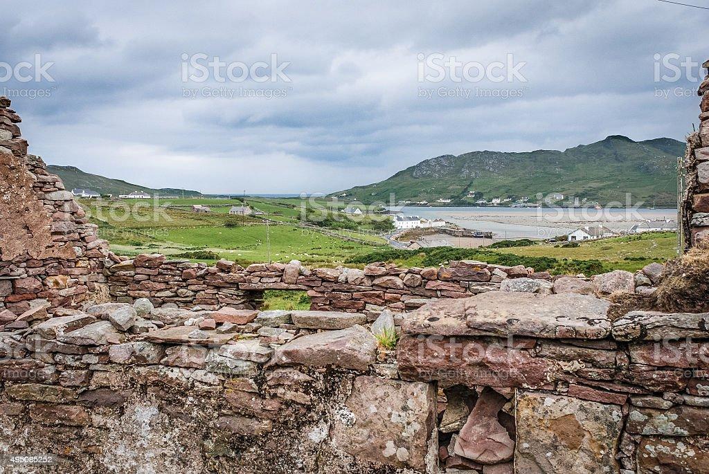 Irish home stock photo