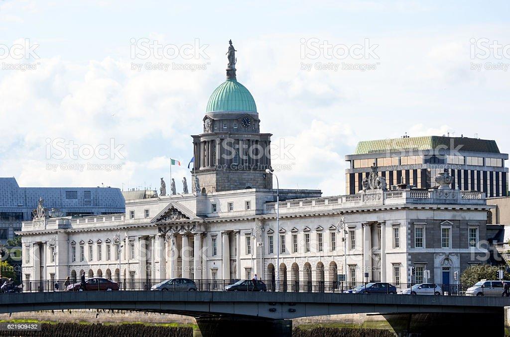 Irish Houses of Parliament stock photo