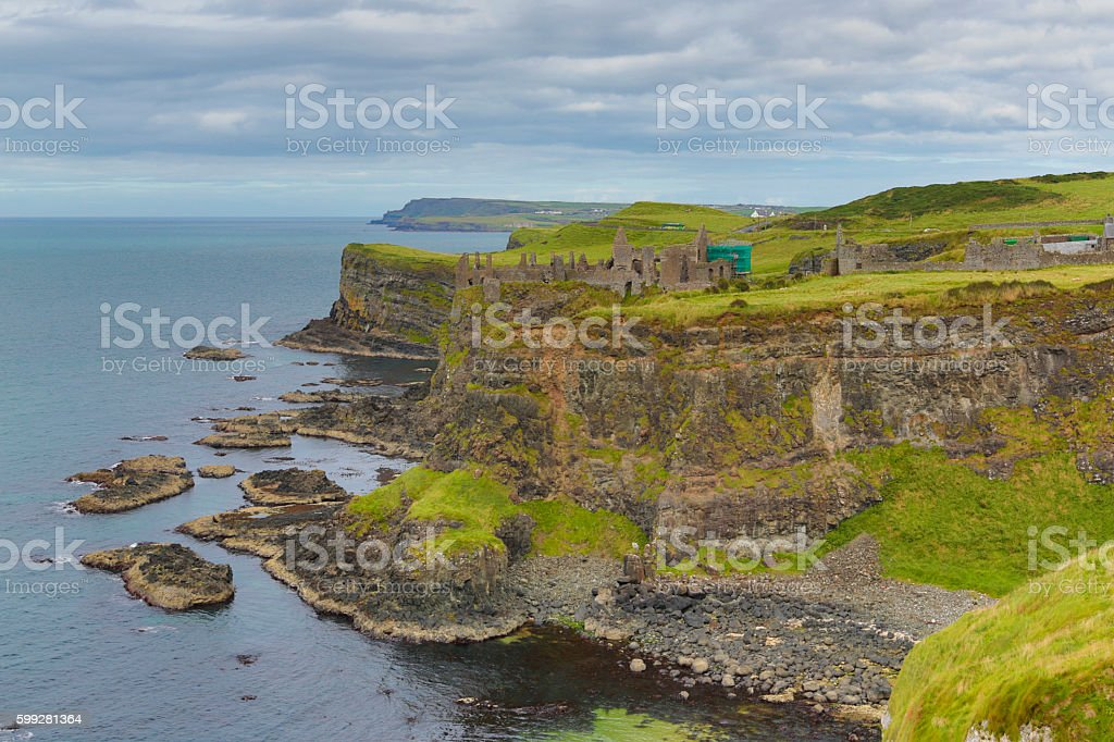 Irish landscape, Cliffs stock photo
