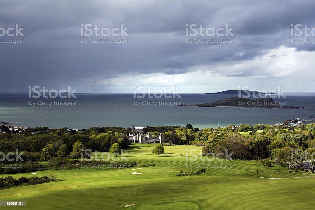 Irish Landscape - Howth, Dublin, Ireland stock photo