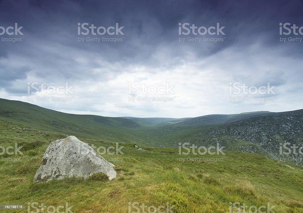 irish landscape royalty-free stock photo