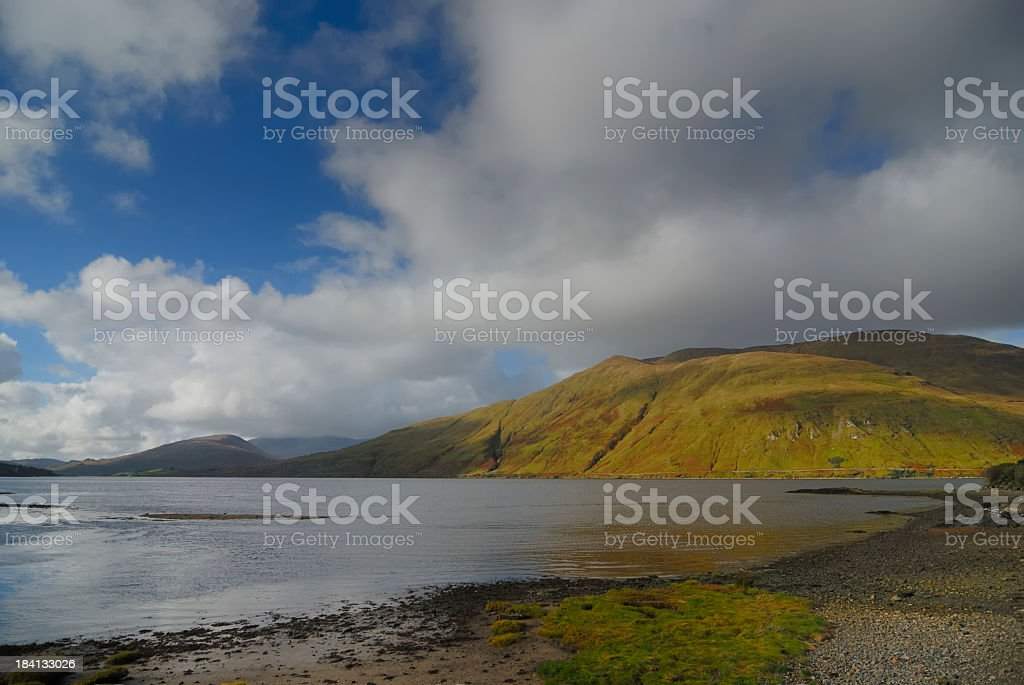 Irish landscape stock photo