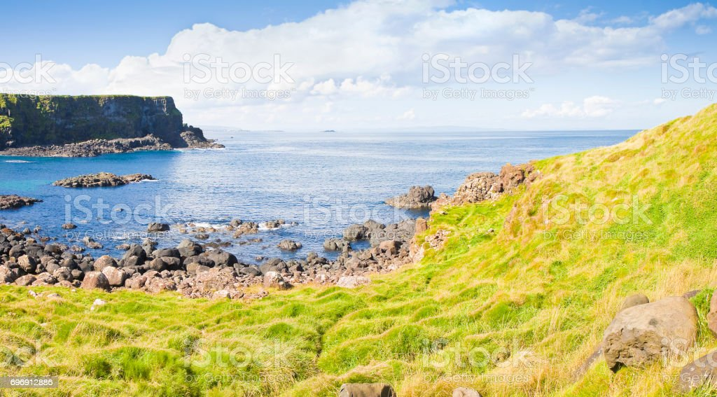 Irish landscape (Northern Ireland - United Kingdom) stock photo