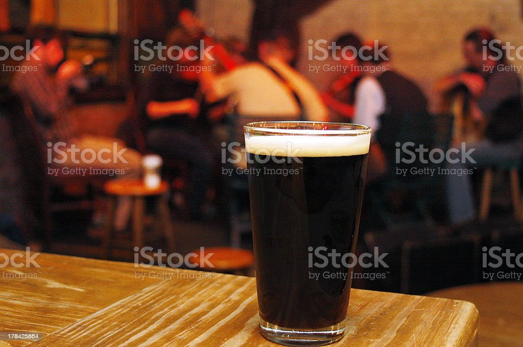 Irish Pub stock photo