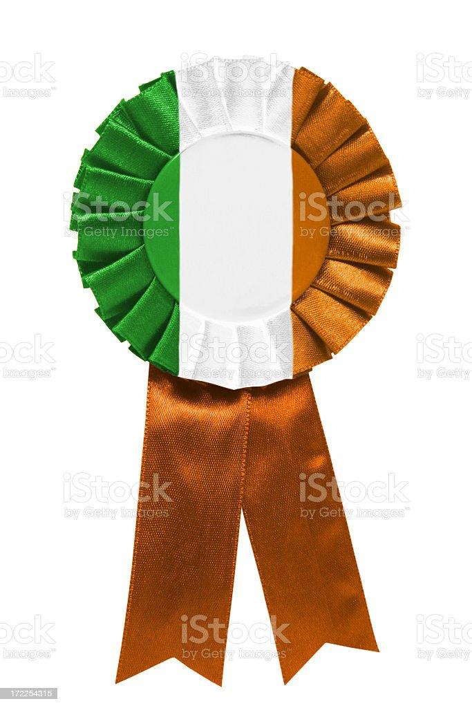 Irish ribbon royalty-free stock photo