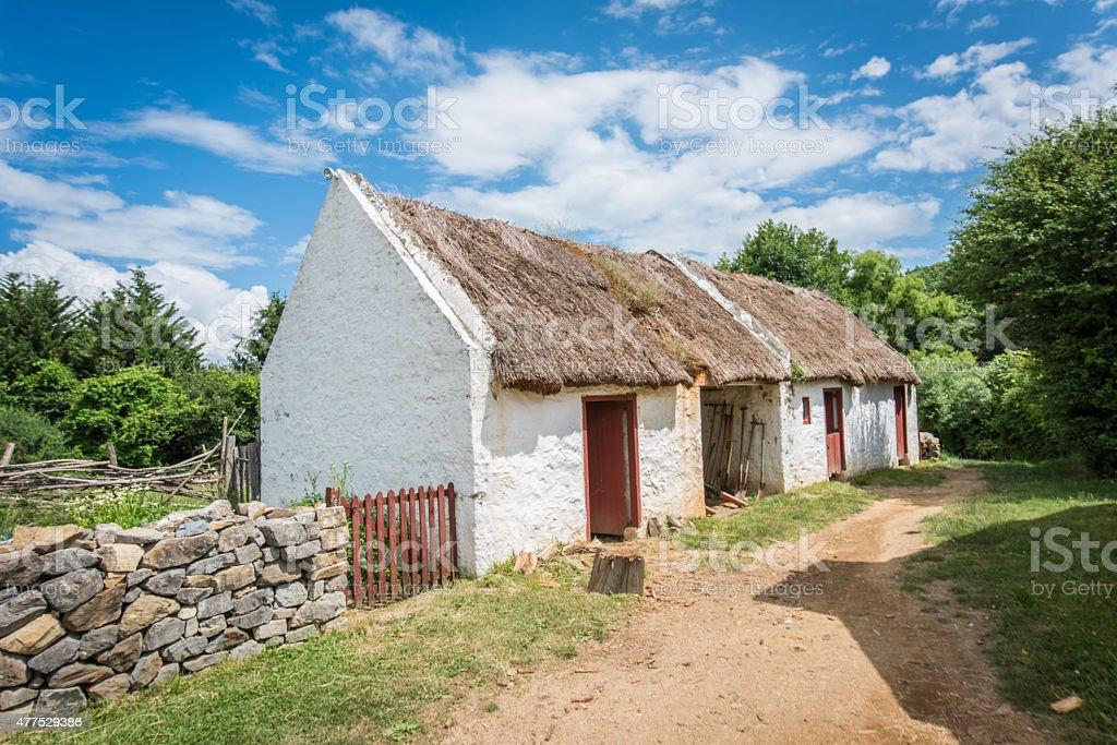 Irish Rural Life stock photo