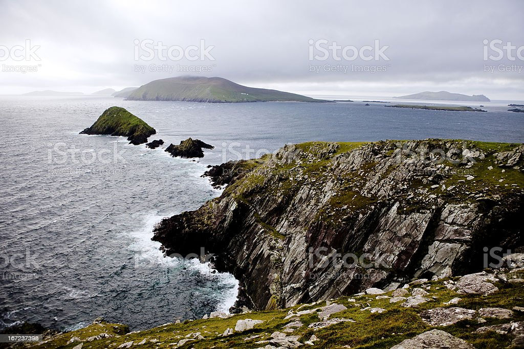 Irish scenics stock photo