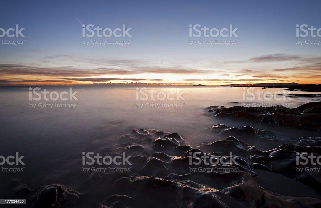 Irish shore royalty-free stock photo