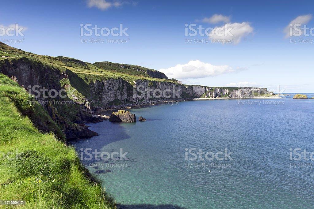 Irish shoreline stock photo