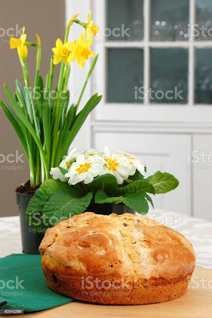 Irish Soda Bread royalty-free stock photo