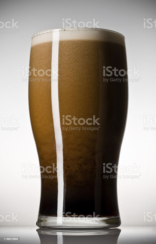 Irish Stout Draught stock photo