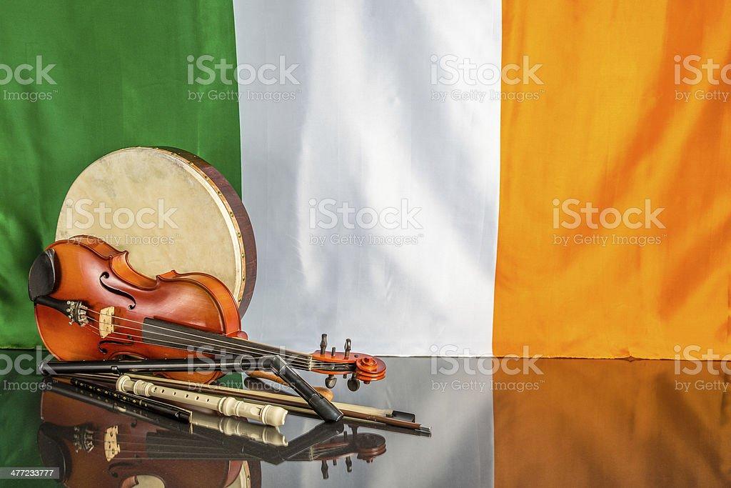 Irish Theme stock photo