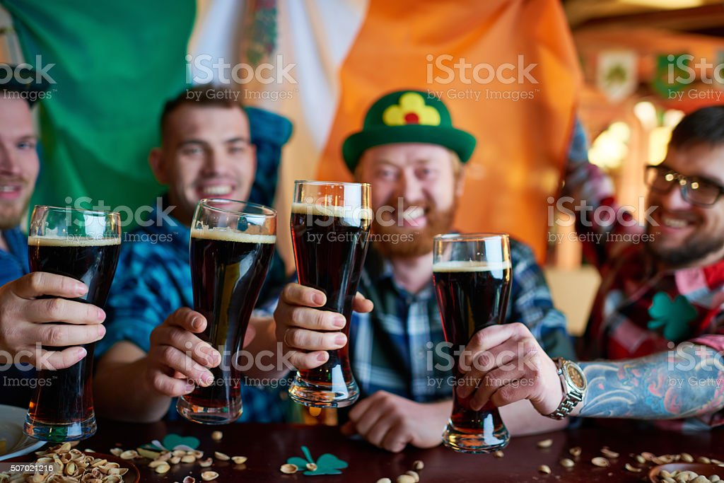 Irish tradition stock photo