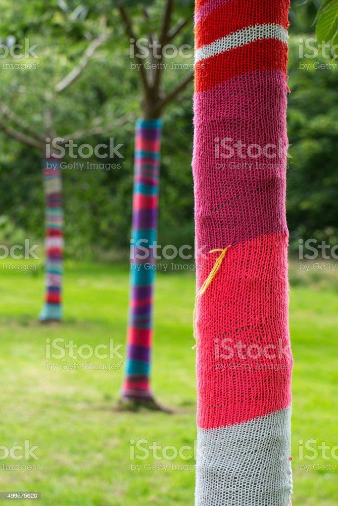 Irish Tree Sweaters stock photo