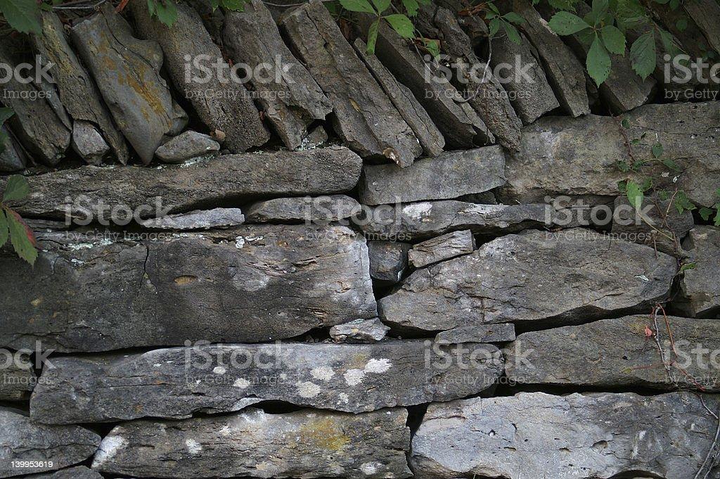 Irish Wall royalty-free stock photo