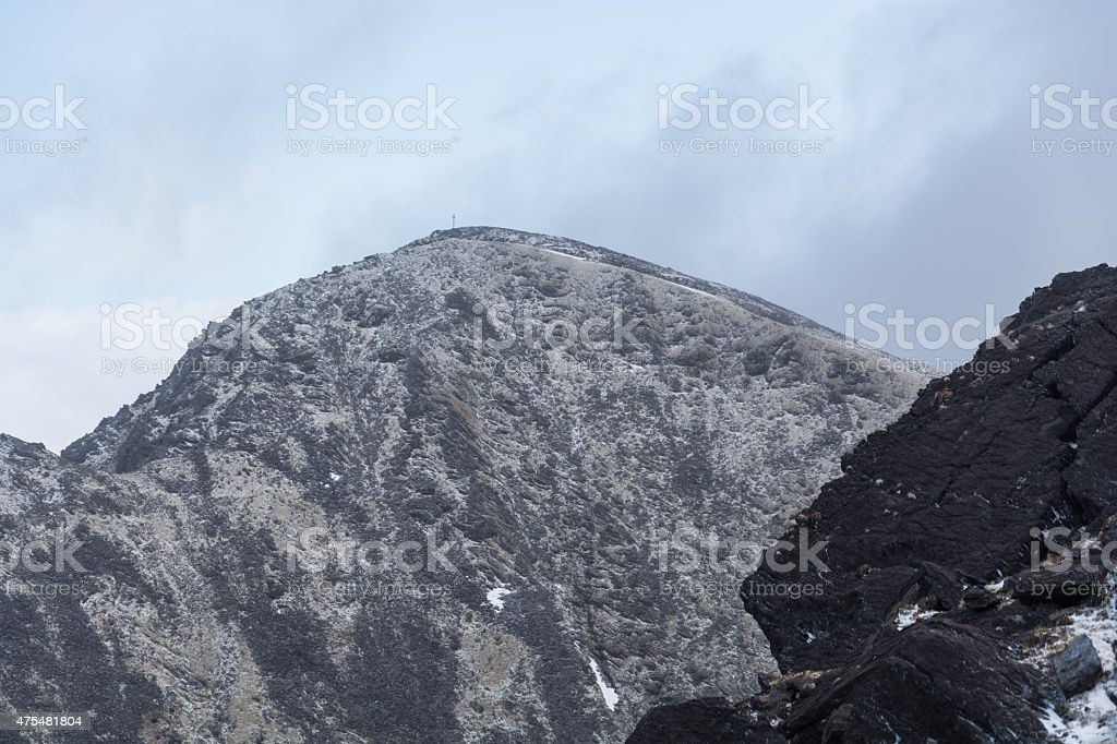 Irland, Carrantuohill royalty-free stock photo