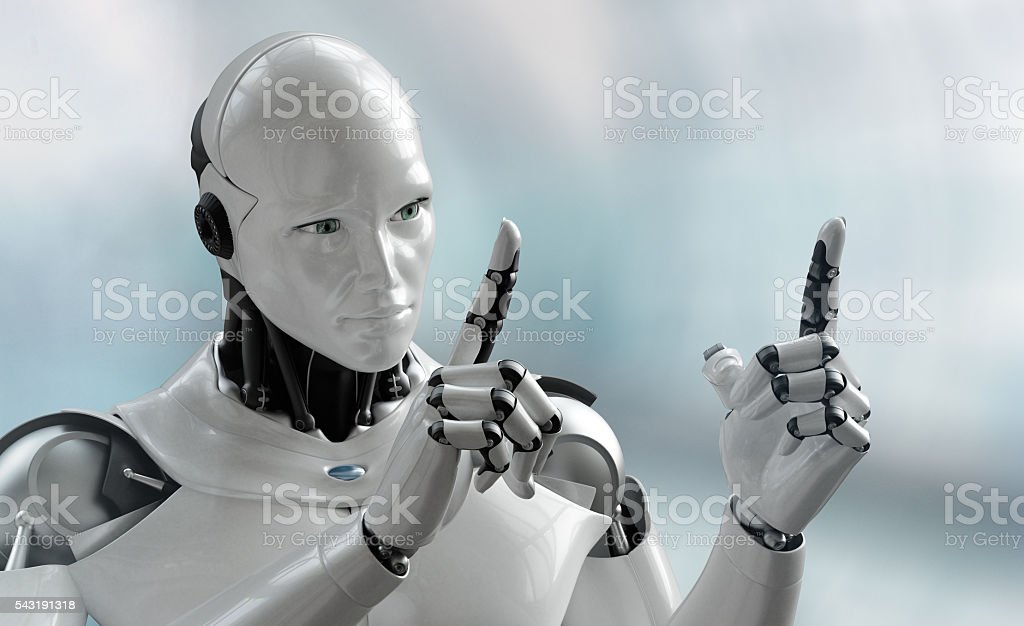 iRobot measure stock photo