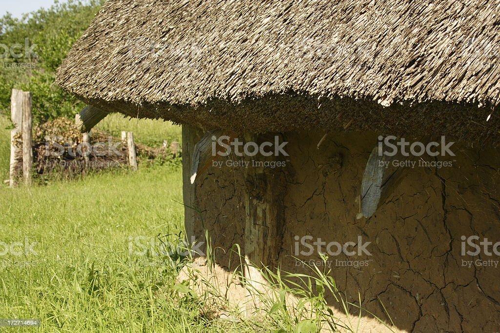 Iron age housing stock photo