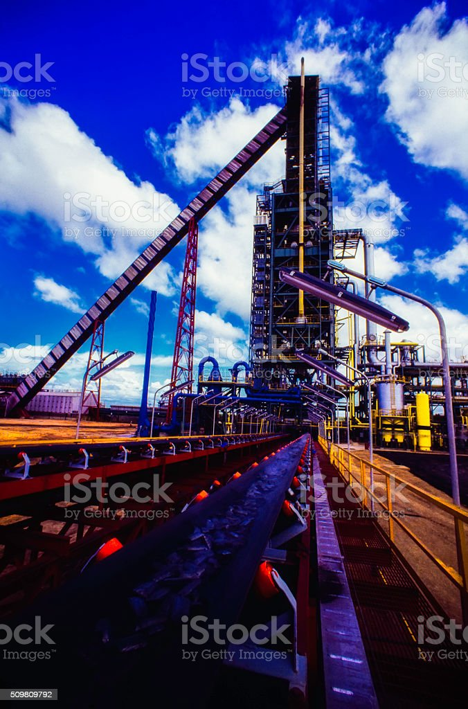 Iron and Steel Industry stock photo