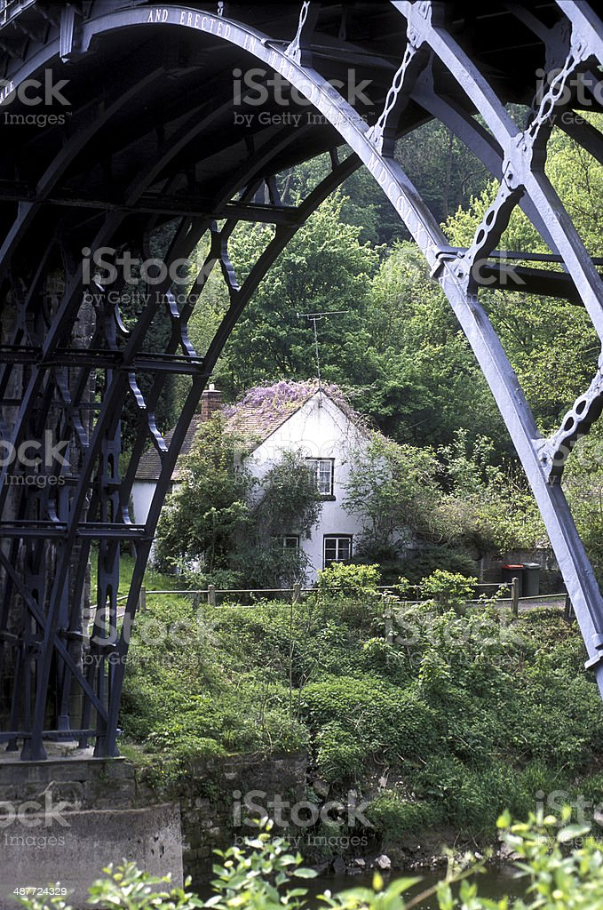 Iron Arches stock photo