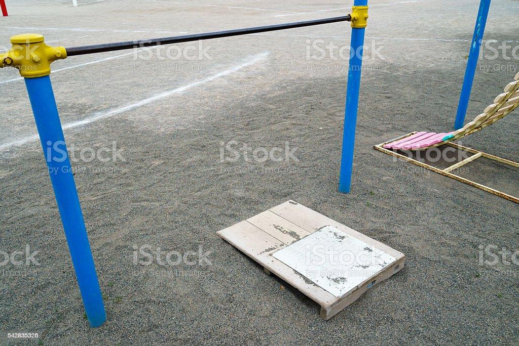 iron bar stock photo