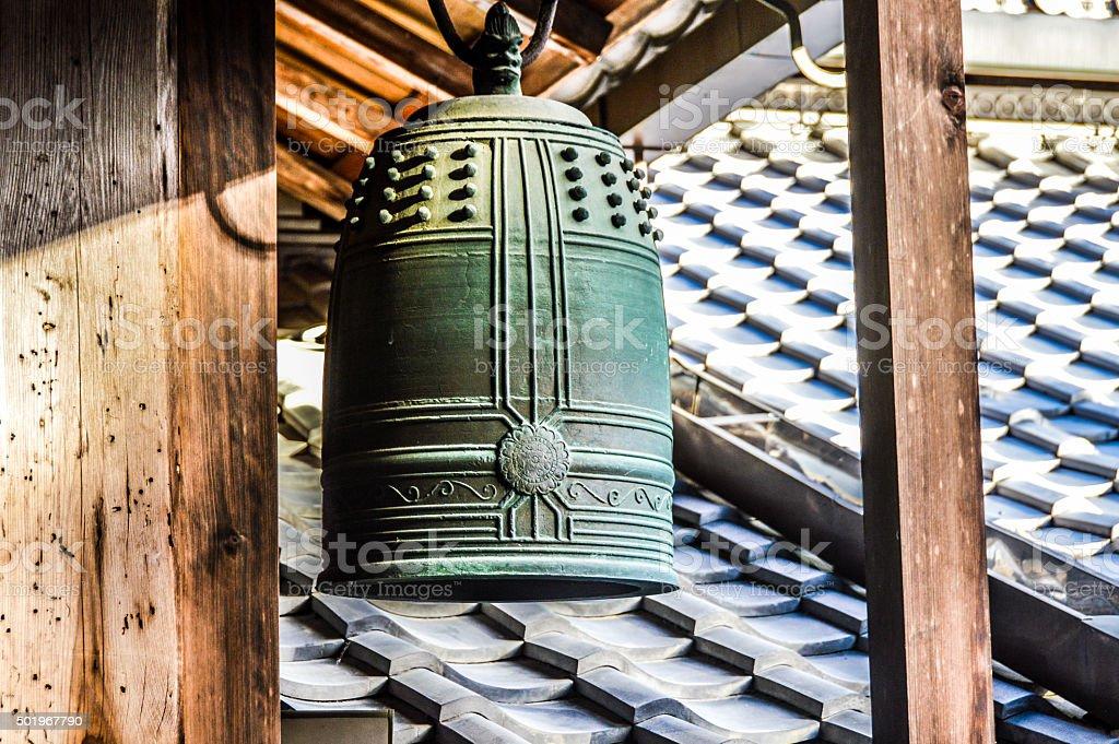 Iron Bell stock photo