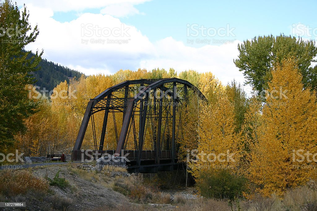 Ponte Iron foto de stock royalty-free