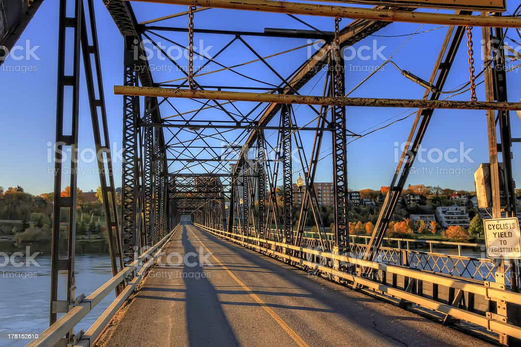 Iron Bridge royalty-free stock photo