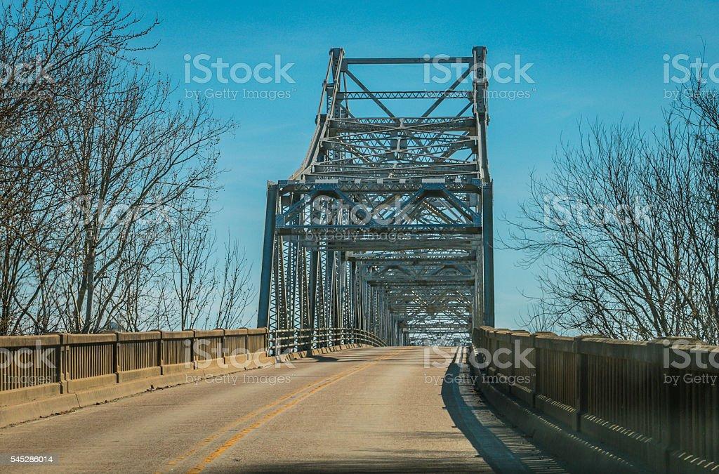 Iron Bridge (2) stock photo