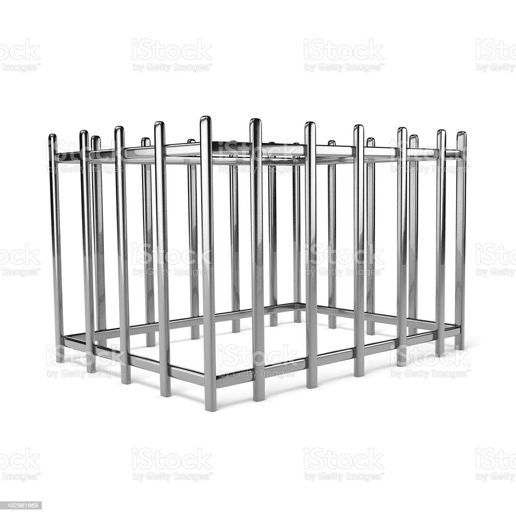 Iron Cage stock photo