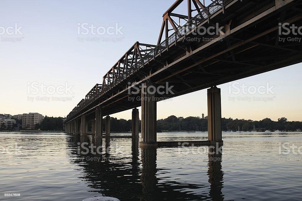 Iron Cove Bridge royalty-free stock photo
