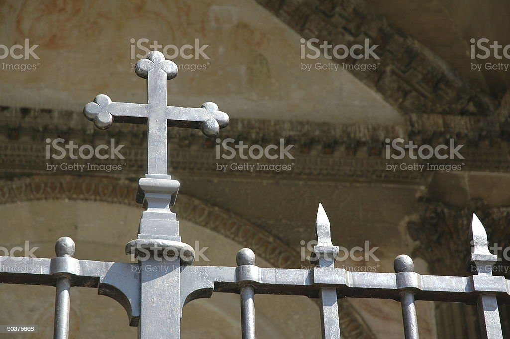 Iron Cross royalty-free stock photo