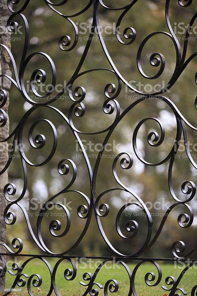 Iron Detail royalty-free stock photo