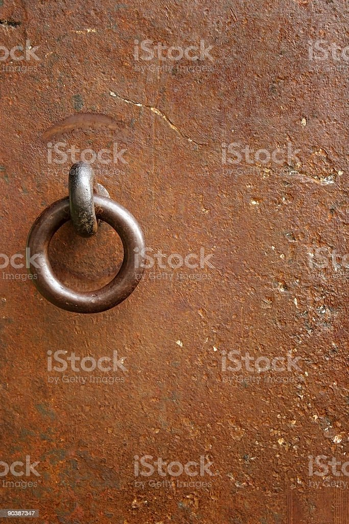 Iron Door royalty-free stock photo
