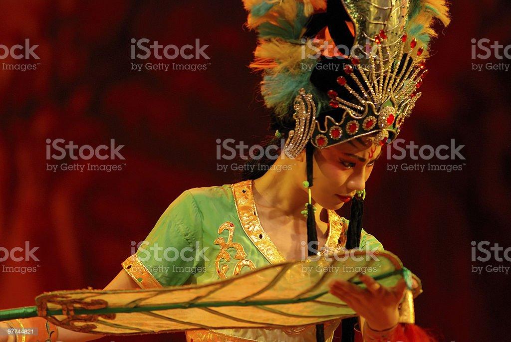 Iron Fan Princess in the China opera stock photo