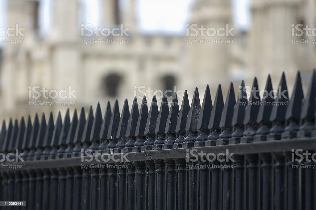 鉄製の柵 ロイヤリティフリーストックフォト