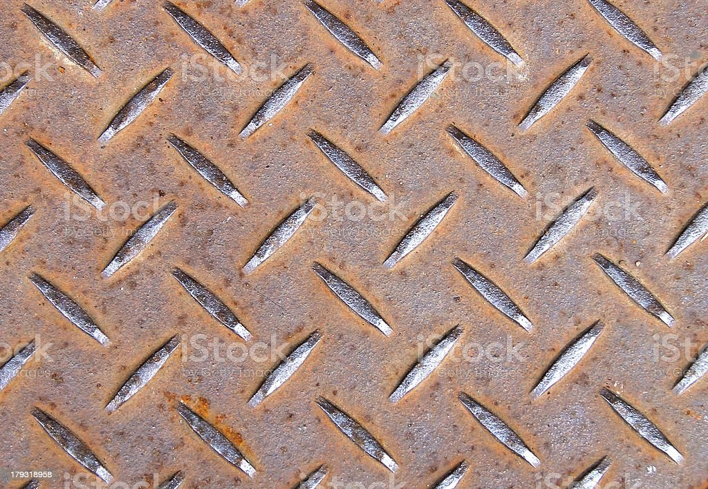 Iron floor royalty-free stock photo