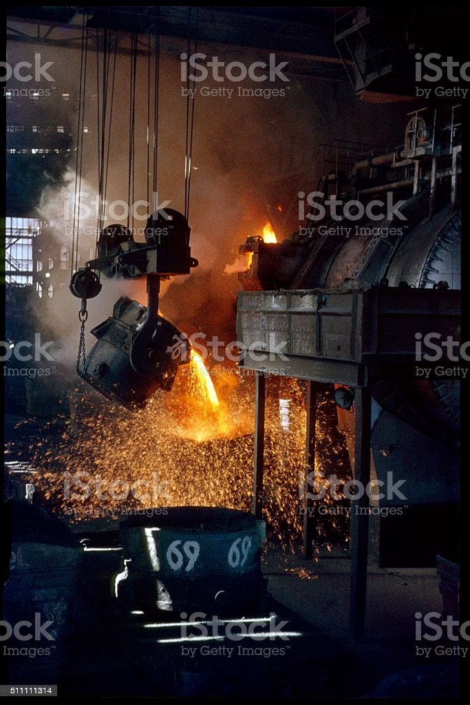 Iron Foundry, Germany stock photo