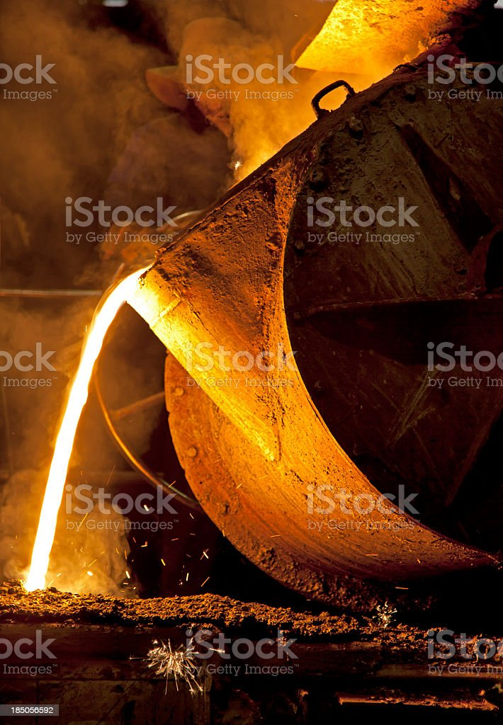 Iron Foundry royalty-free stock photo