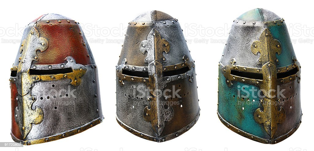 Iron helmet royalty-free stock photo