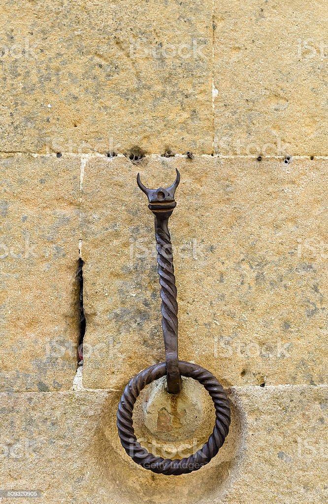 iron hook stock photo