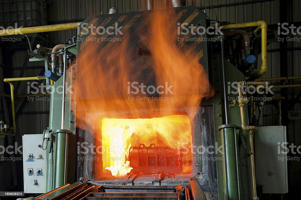 Iron Manufacturing royalty-free stock photo