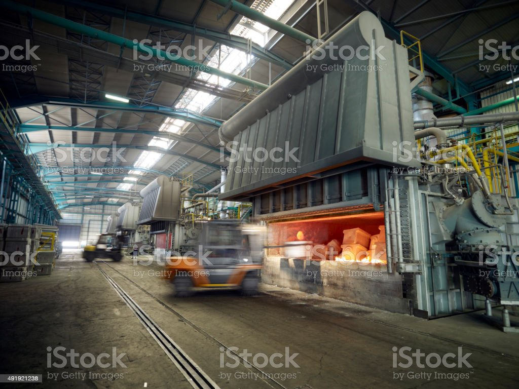 Iron Manufacturing stock photo