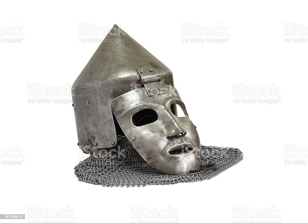Iron Mask stock photo
