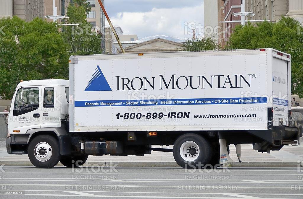 Iron Mountain stock photo
