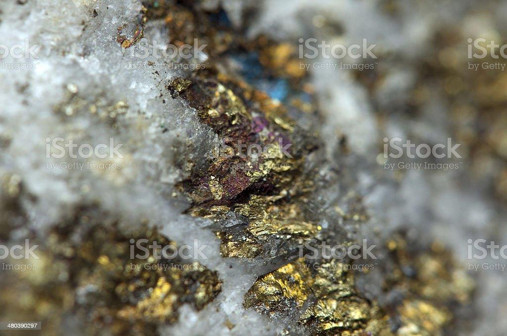 Iron ore. Macro stock photo