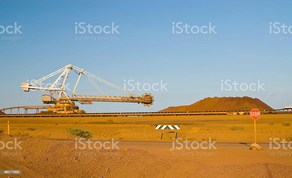 Iron Ore Mining stock photo